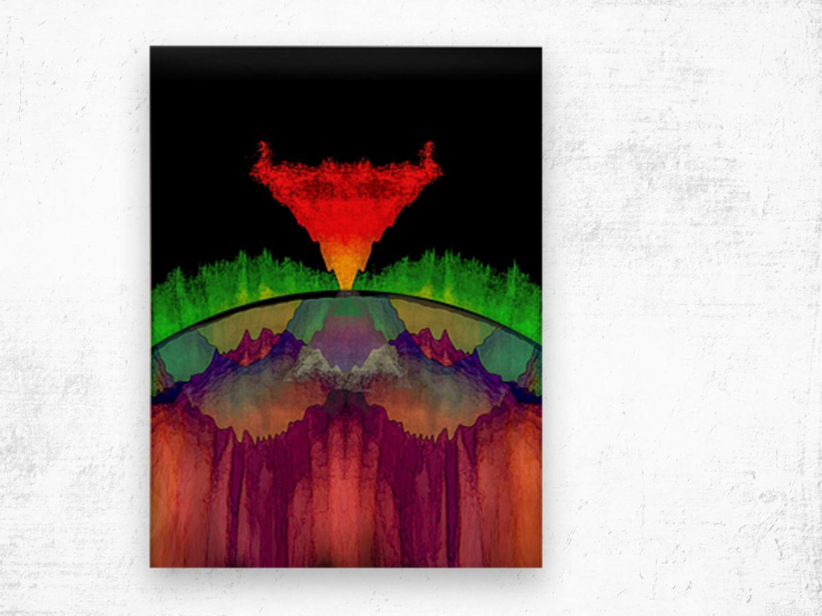 Night on Bald Mountain Wood print