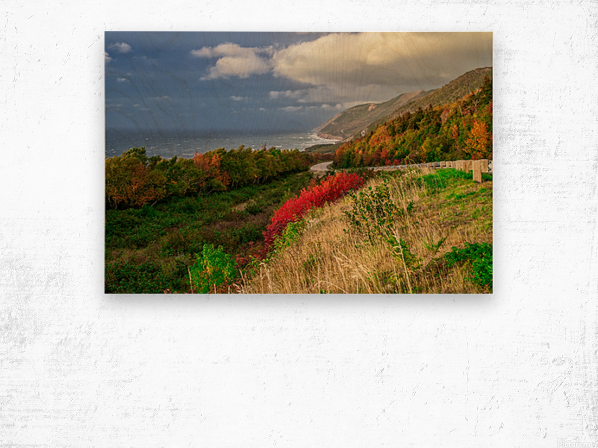 Cabot Trail Colors Wood print