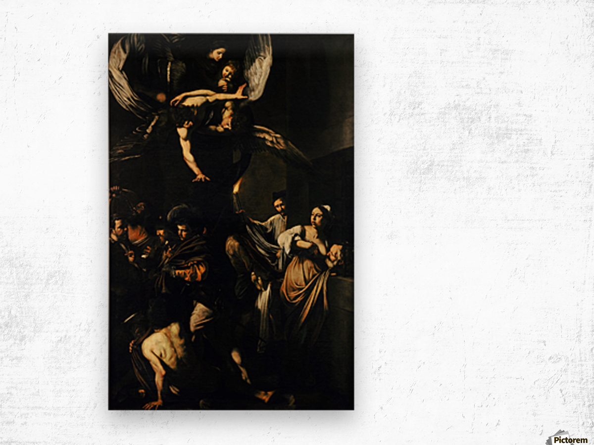 The Seven Works of Mercy Wood print