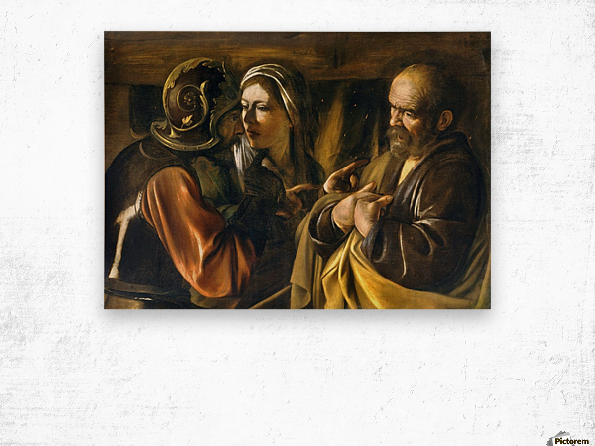 The Denial of Saint Peter Wood print
