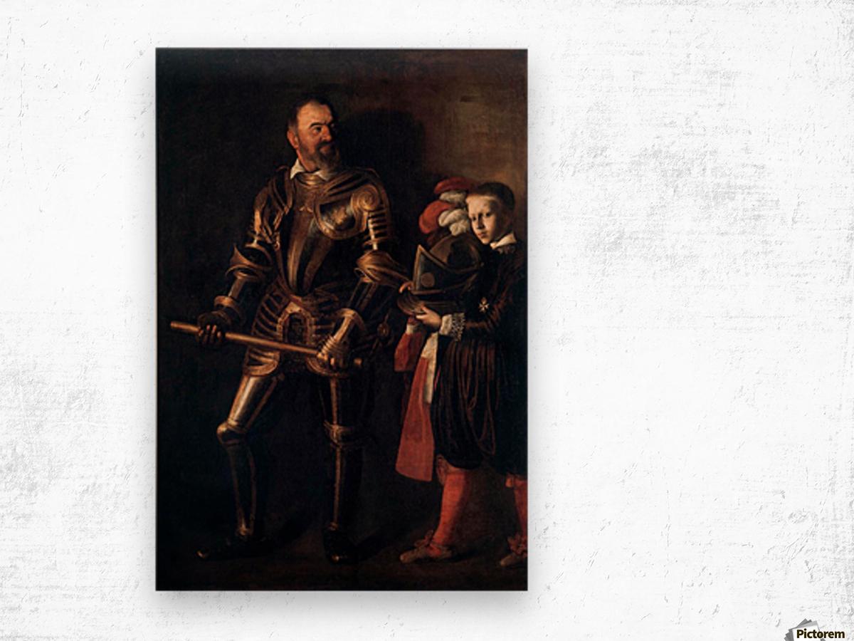 Knight of Malta Wood print
