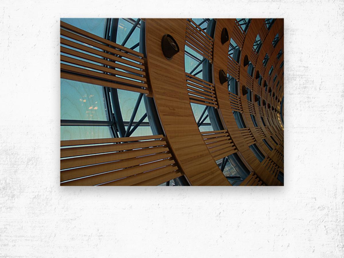 Paris Airport Wood print