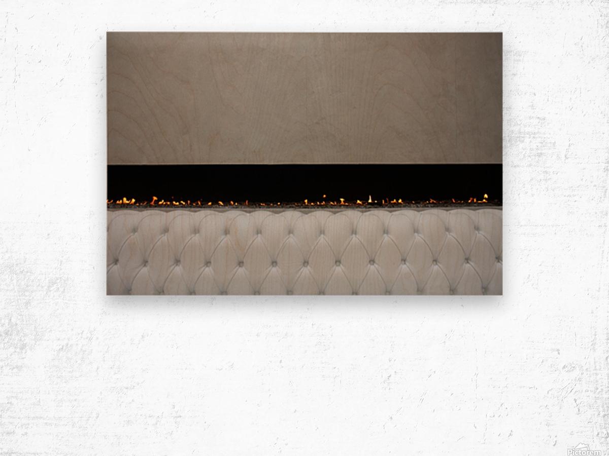 Hotel Murano Paris Wood print