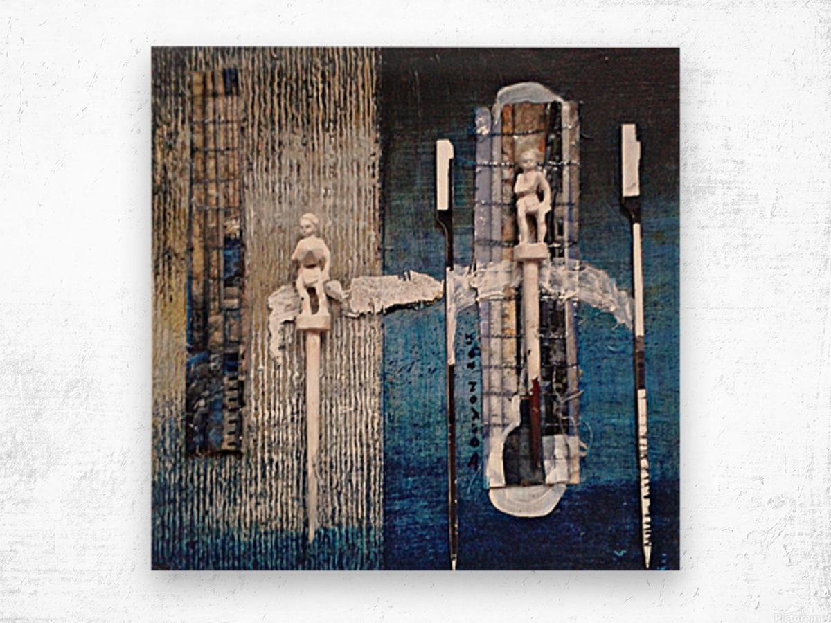 mozaik 1 Impression sur bois