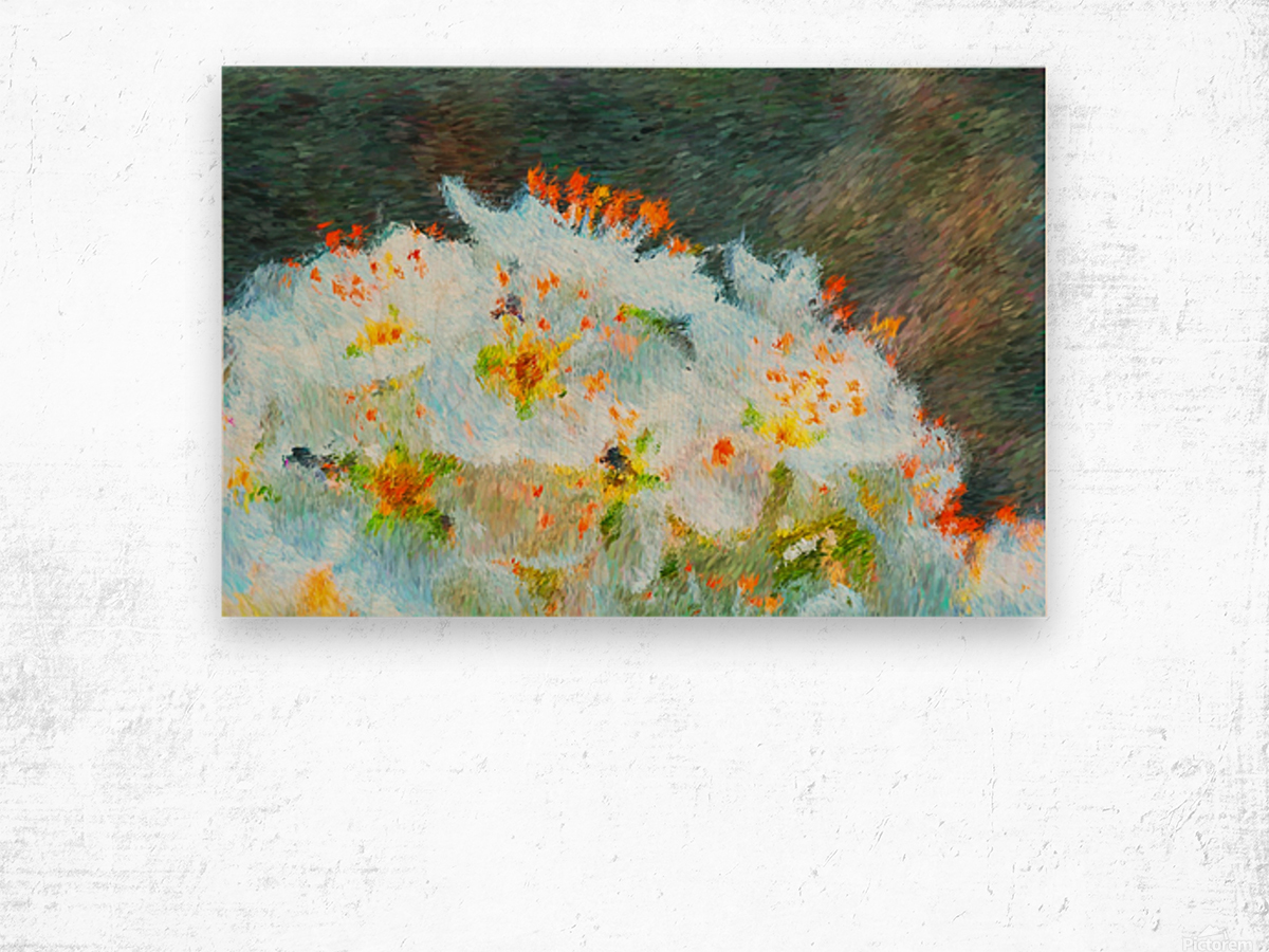 Blossom In A Storm Wood print