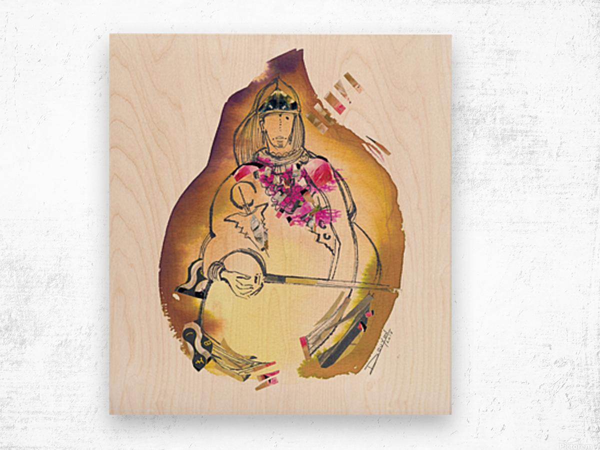 Kreol maghribia_2 Wood print
