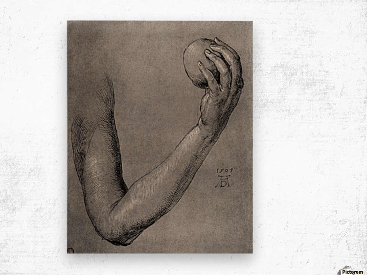Arm of Eve Wood print