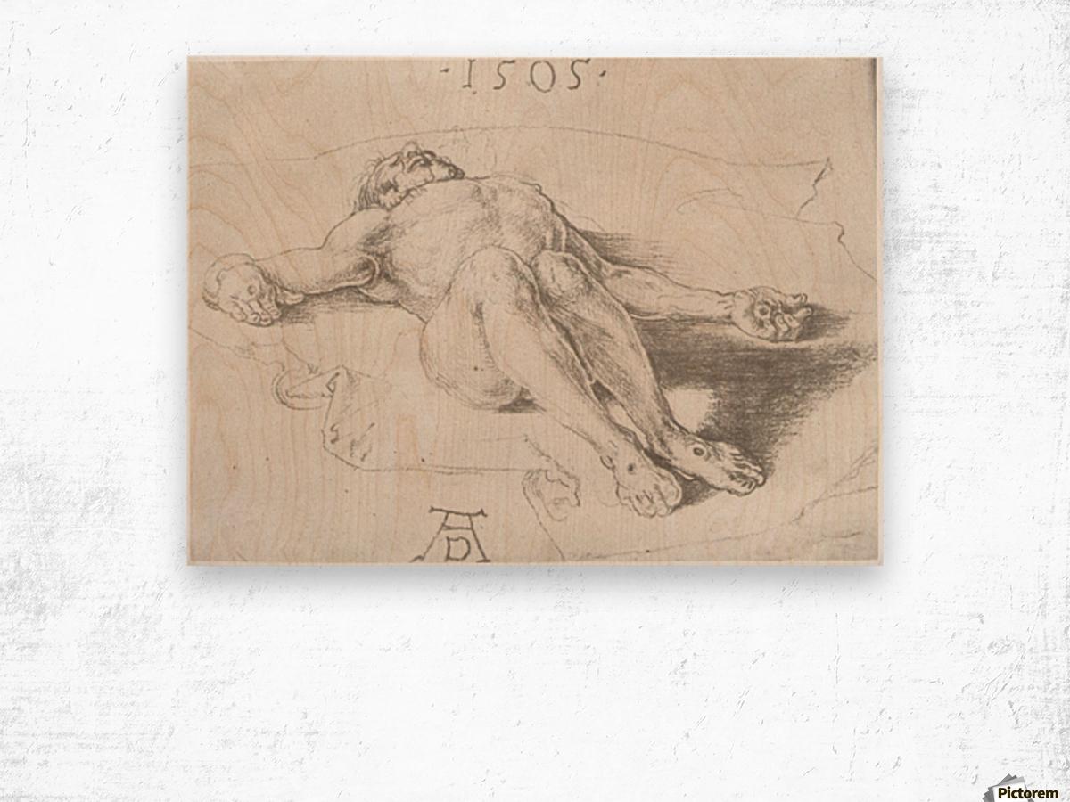 Body of Christ Wood print