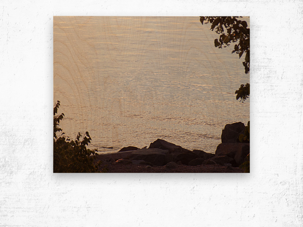 Rocky Shore 1 Wood print