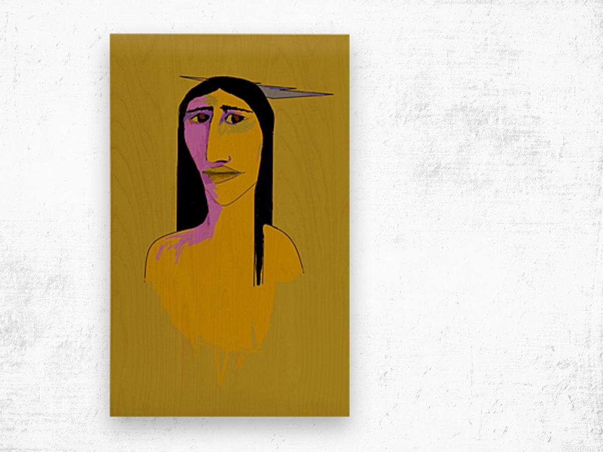 Autochtone  Wood print