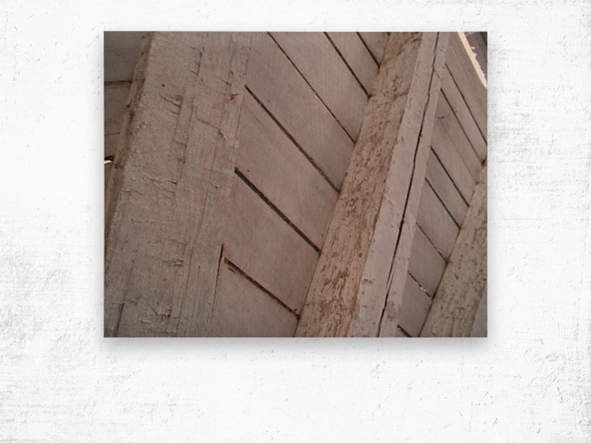 Wooden Beams Wood print