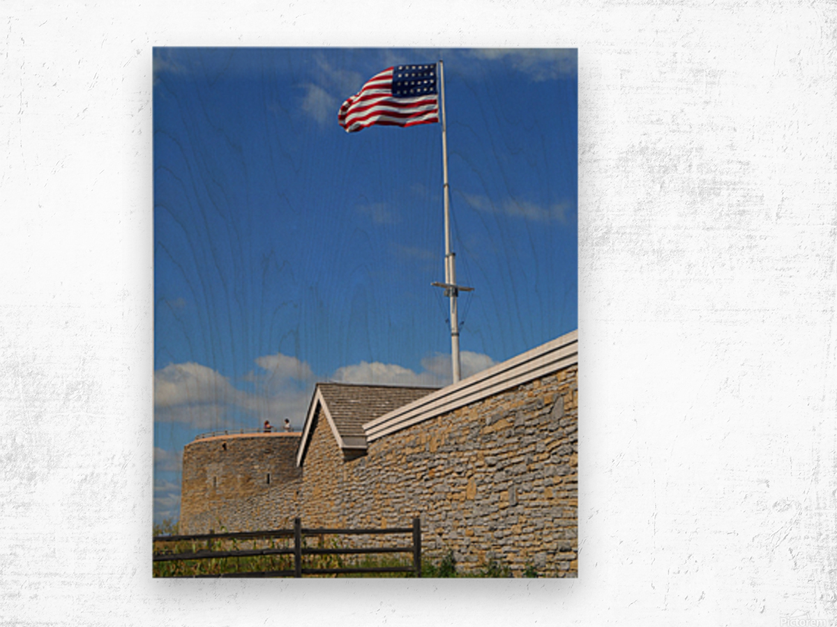 Historic Fort Snelling Wood print
