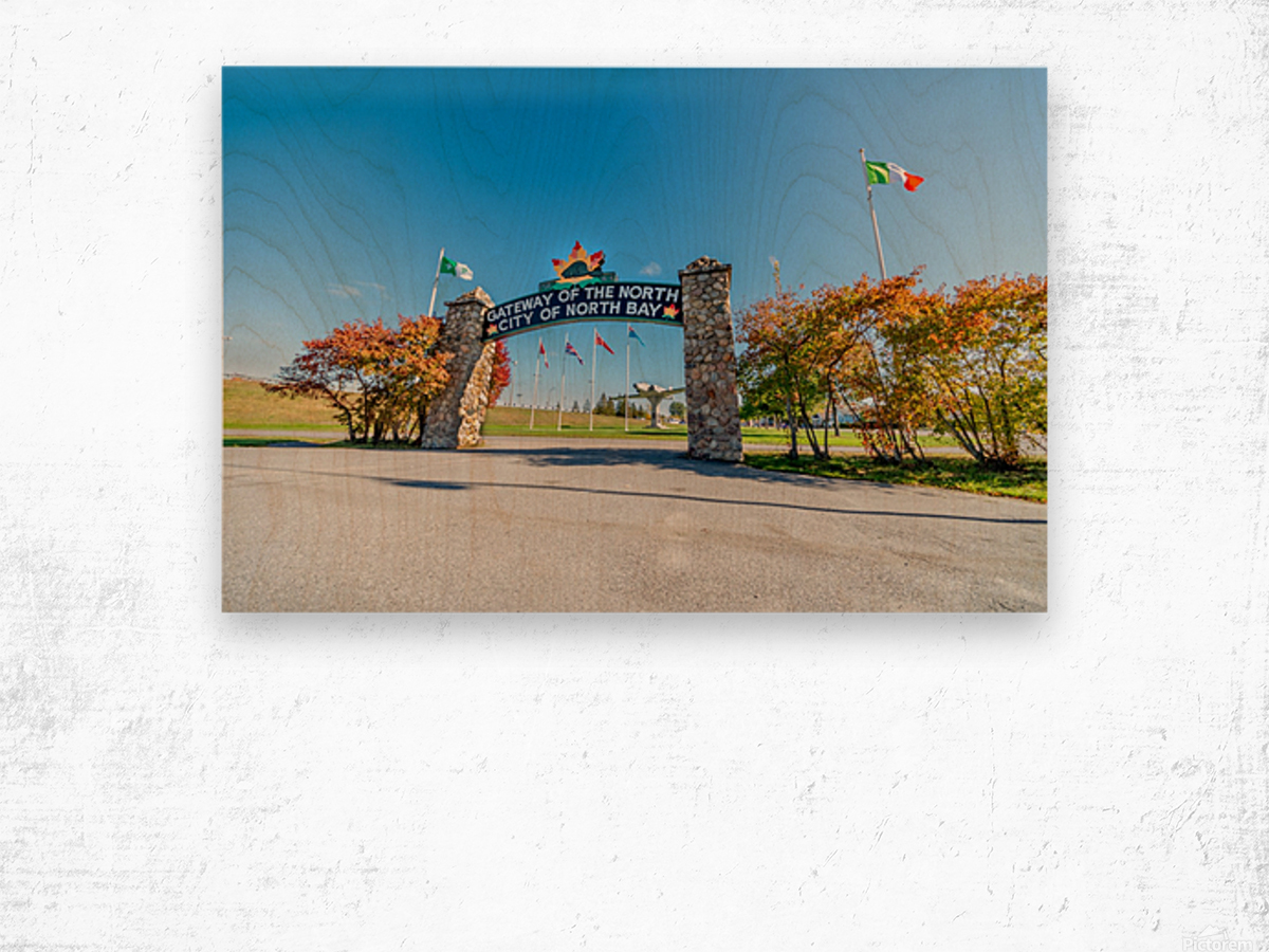 Gateway to The North Wood print