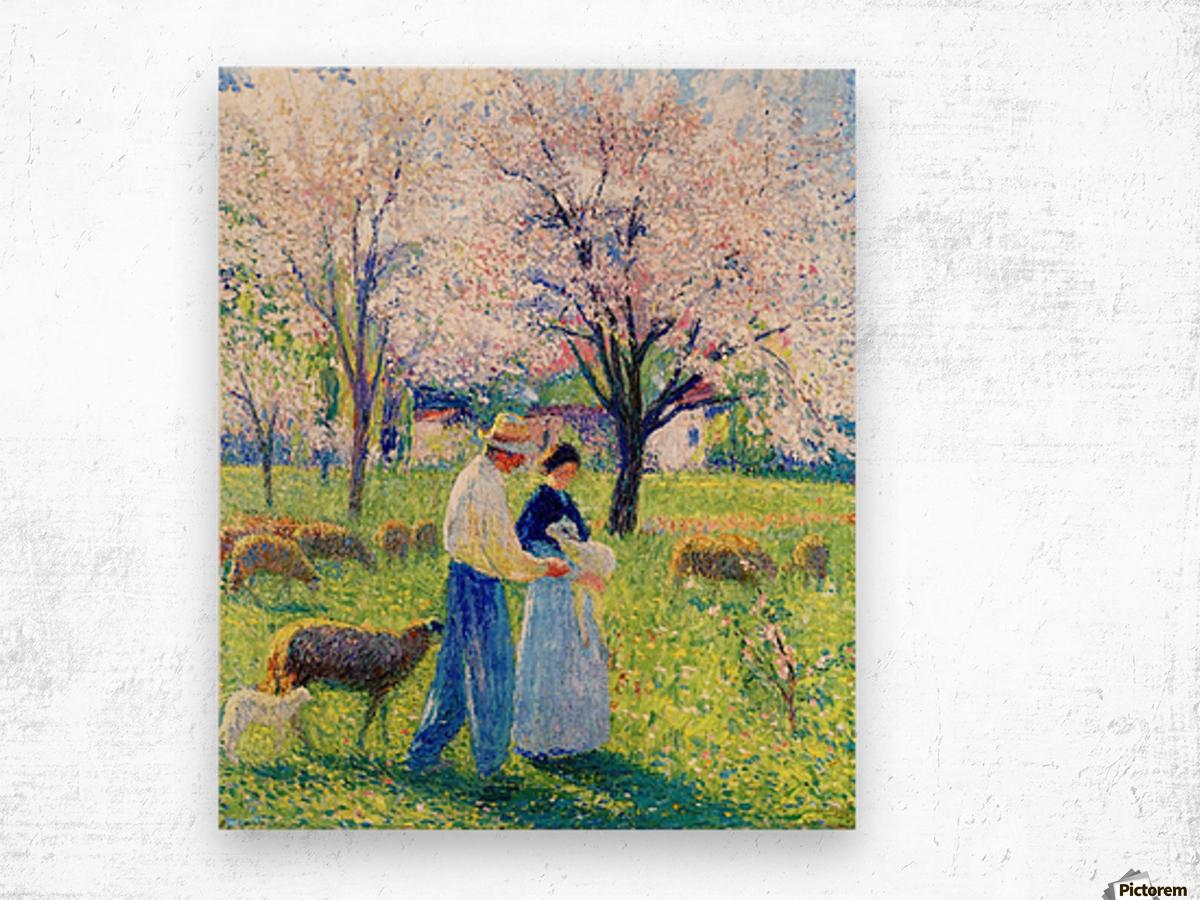 Lovers at Spring Wood print
