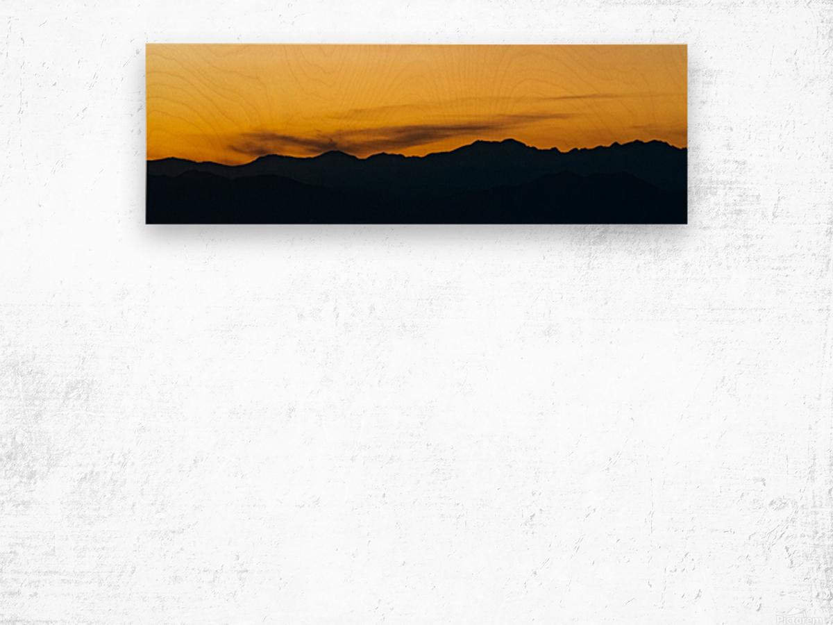 Aurora Westward 1 Wood print
