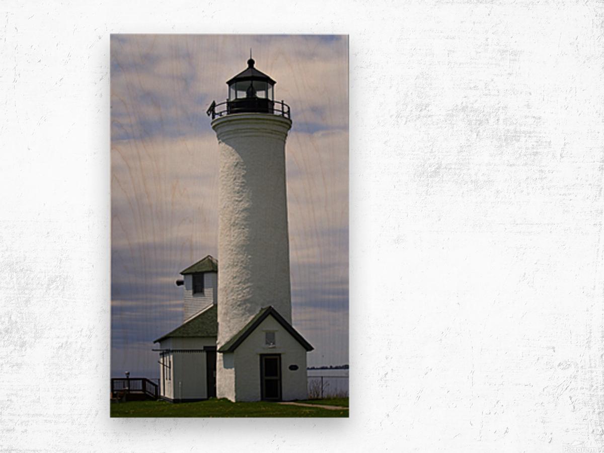 Cape Vincent Lighthouse Wood print