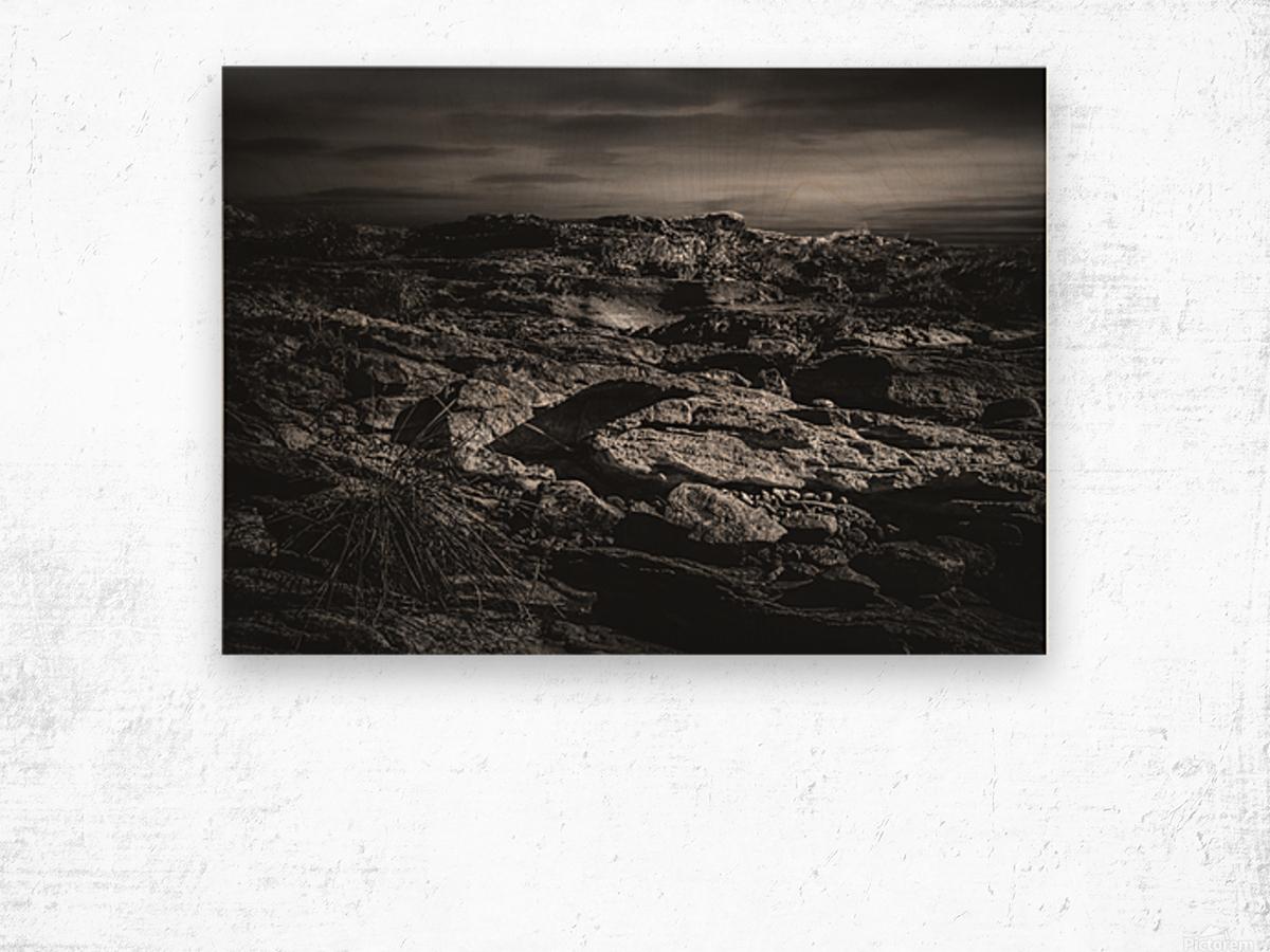 Secret Mountain Place Wood print