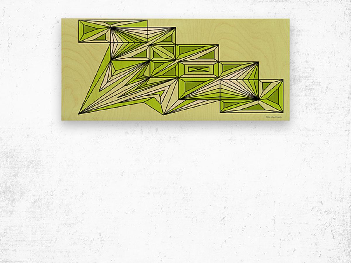 A star ship 3 Wood print