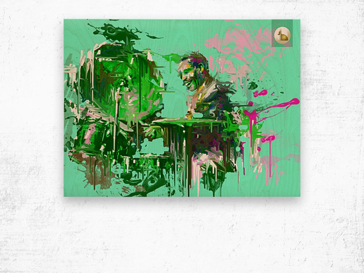 Untitled 9 Wood print