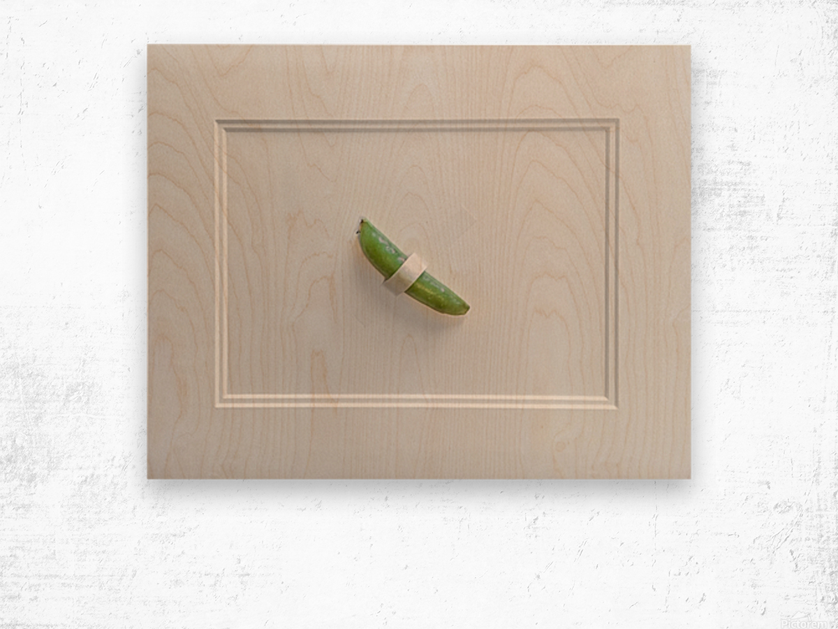 Snap Pea Wood print