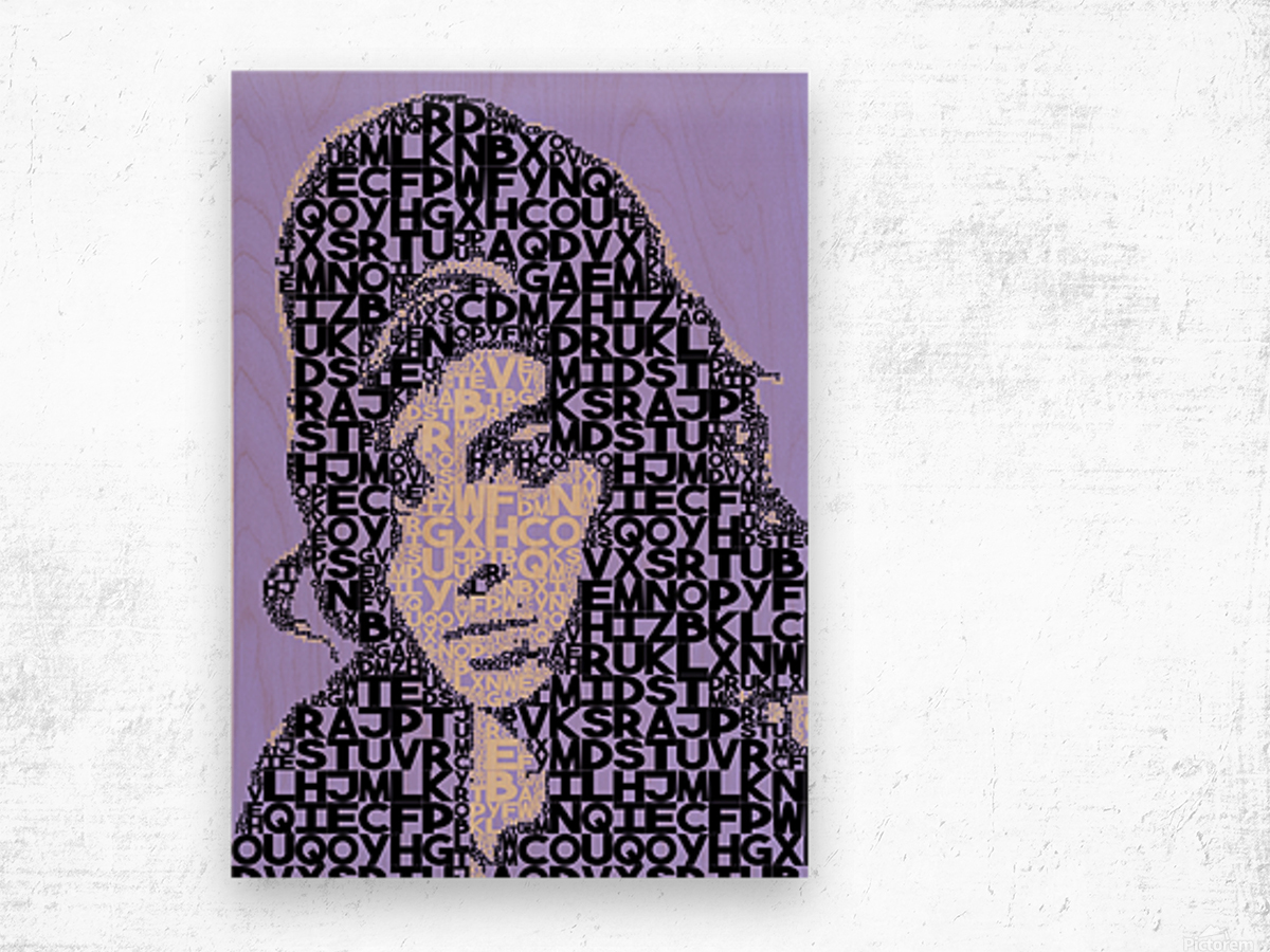 Amy Winehouse2 Wood print