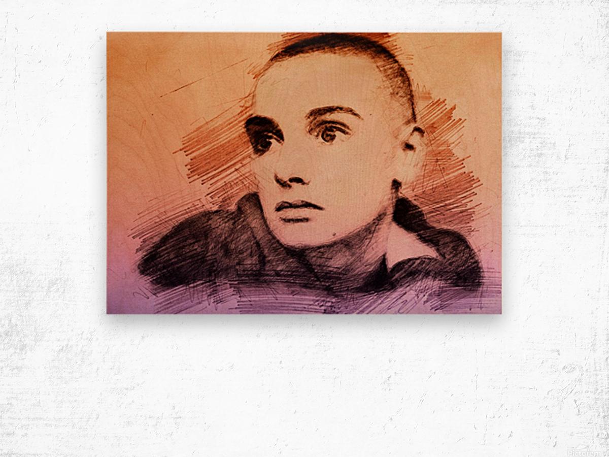 Sinéad OConnor Wood print