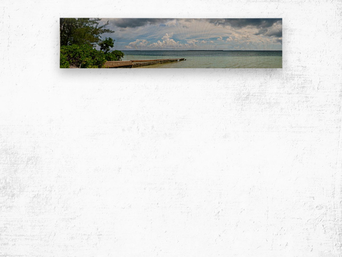 View of Georgetown from Starfish Point in Grand Cayman 2 Wood print