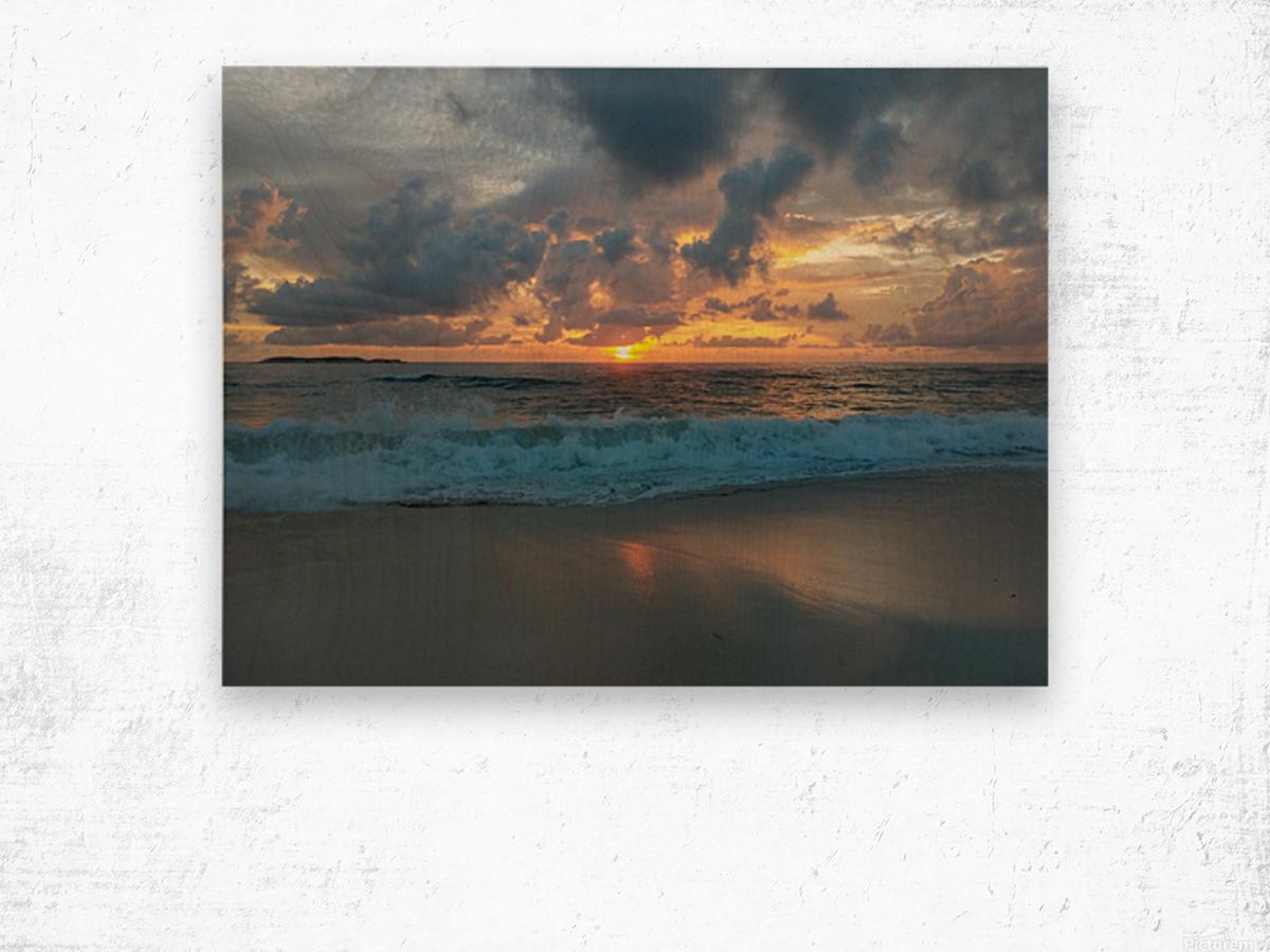 Eleuthera Morning on the beach Wood print