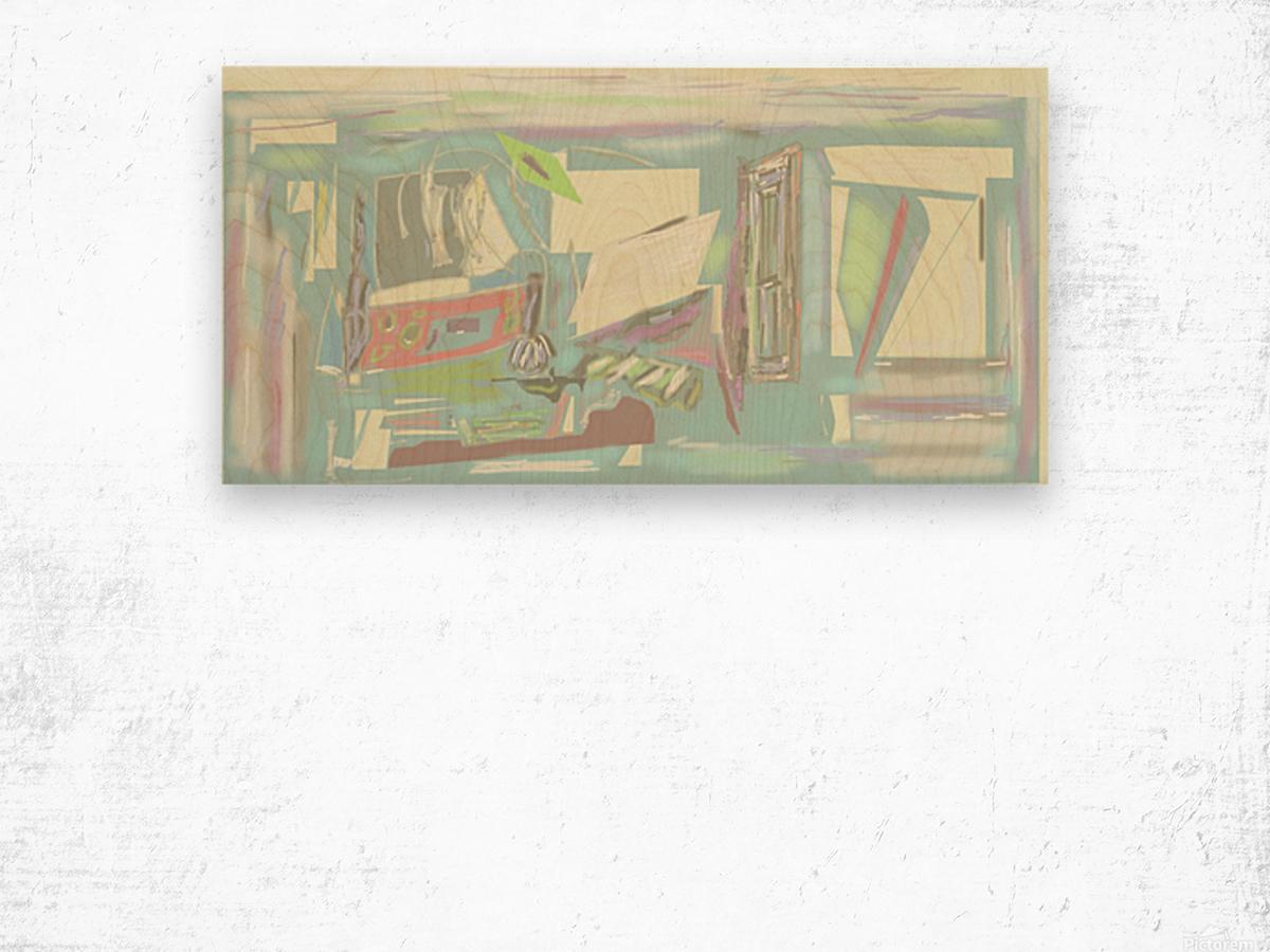 61 4 19drawa5sand3.btif2 Wood print