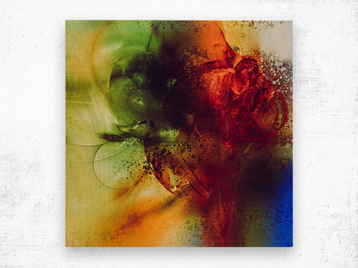 Dazz by Jean-Francois Dupuis Wood print