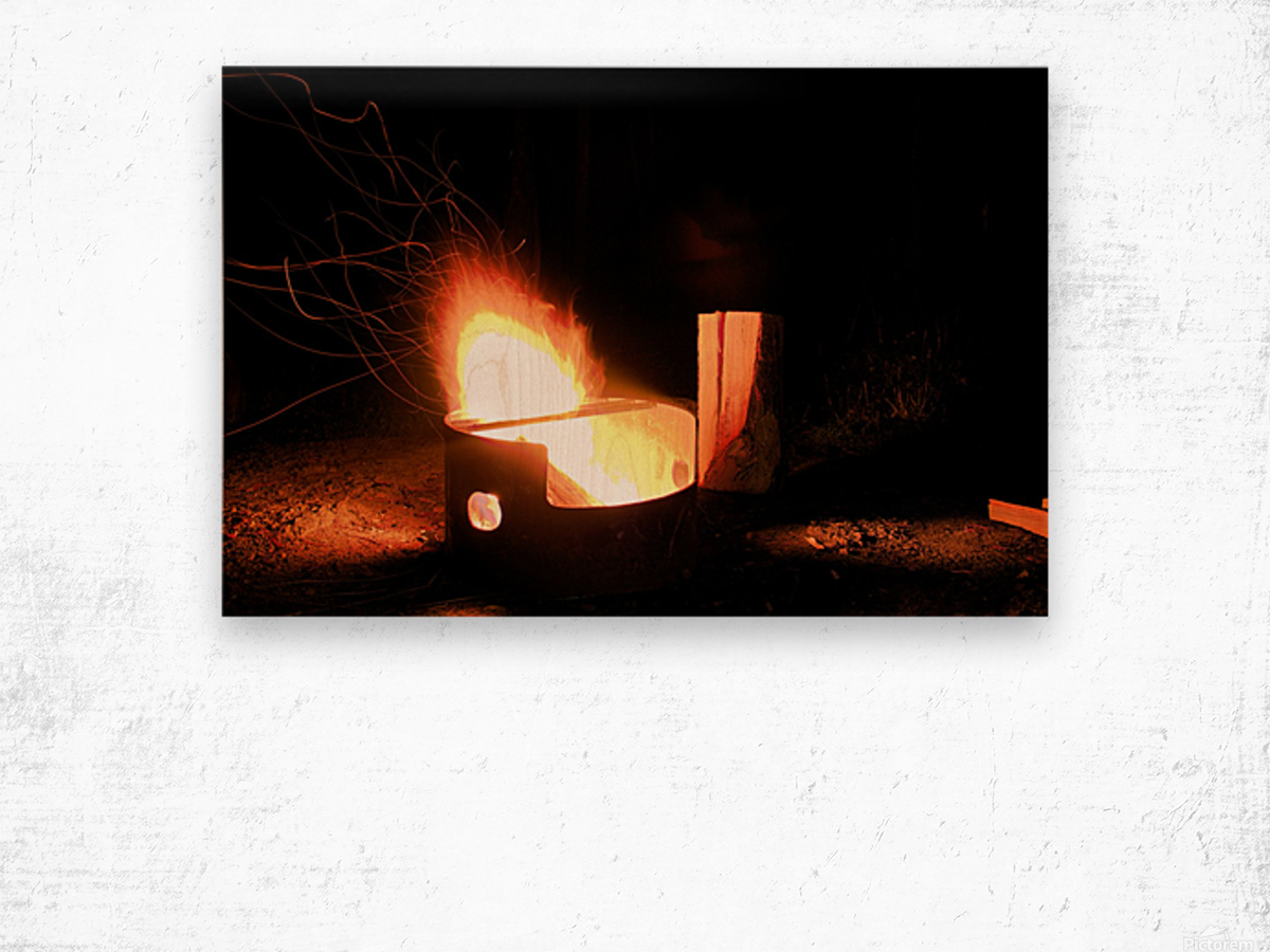 Ask the Campfire Wood print