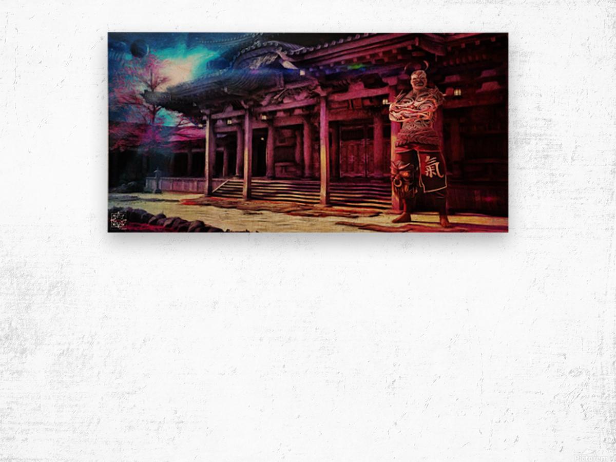 Oni Wood print