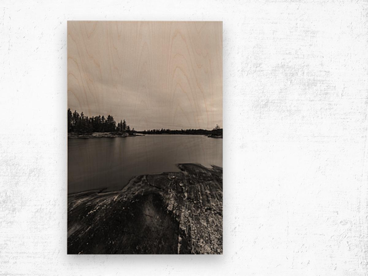 Elton Lake Wood print