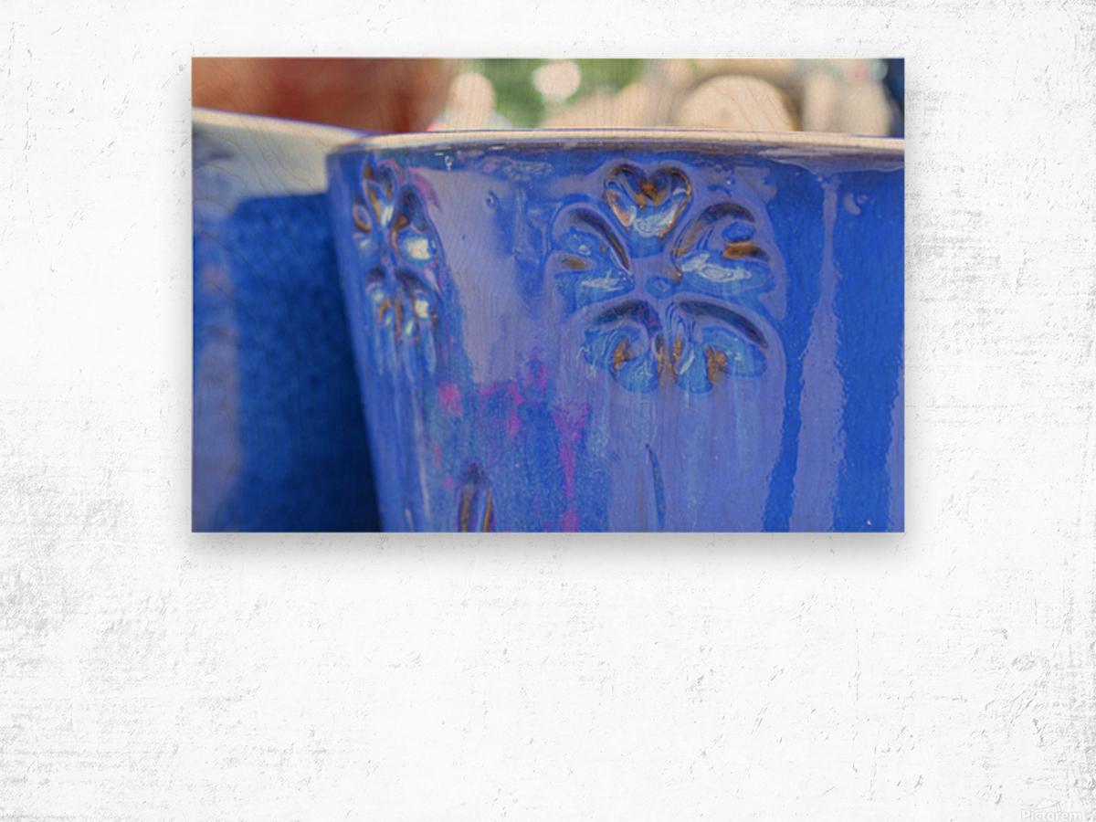 Beautiful Pottery Photograph Wood print