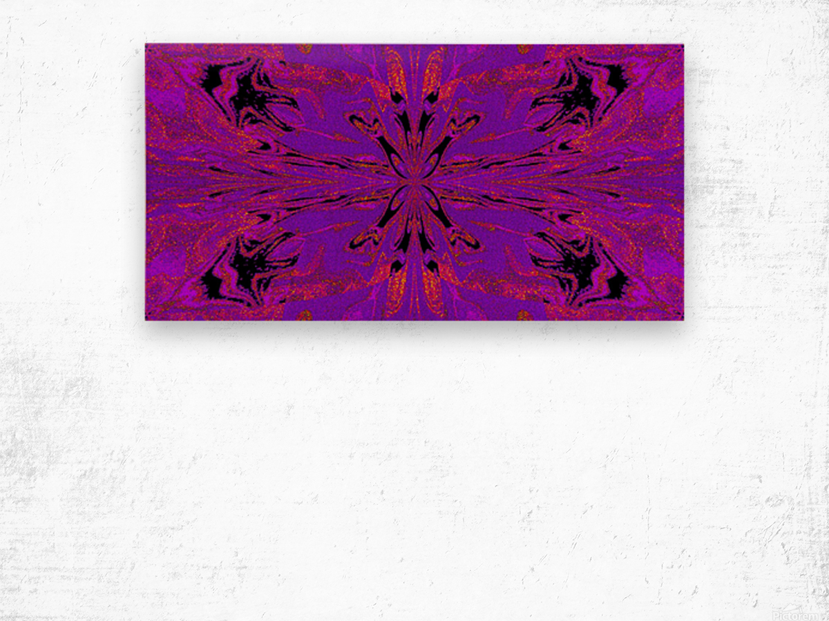 Abstract Butterfly 48 Wood print