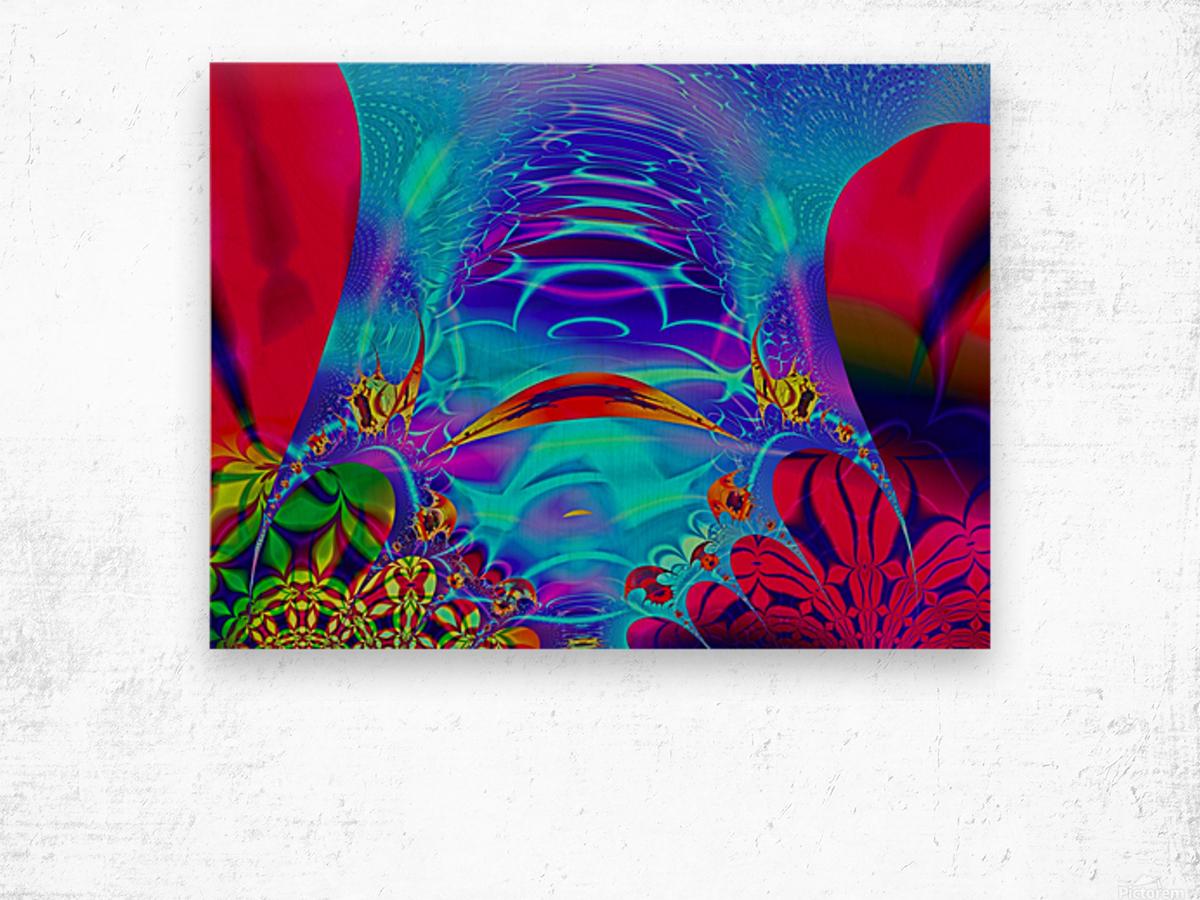 Sea_Bottom_3 Wood print