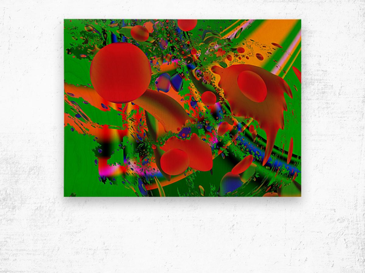 Tangerine_Island_7 Wood print