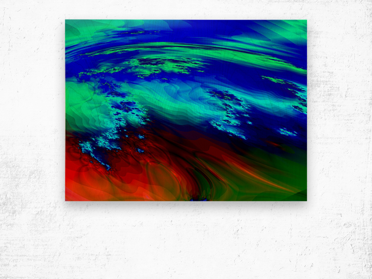 Weather_Report_27 Wood print