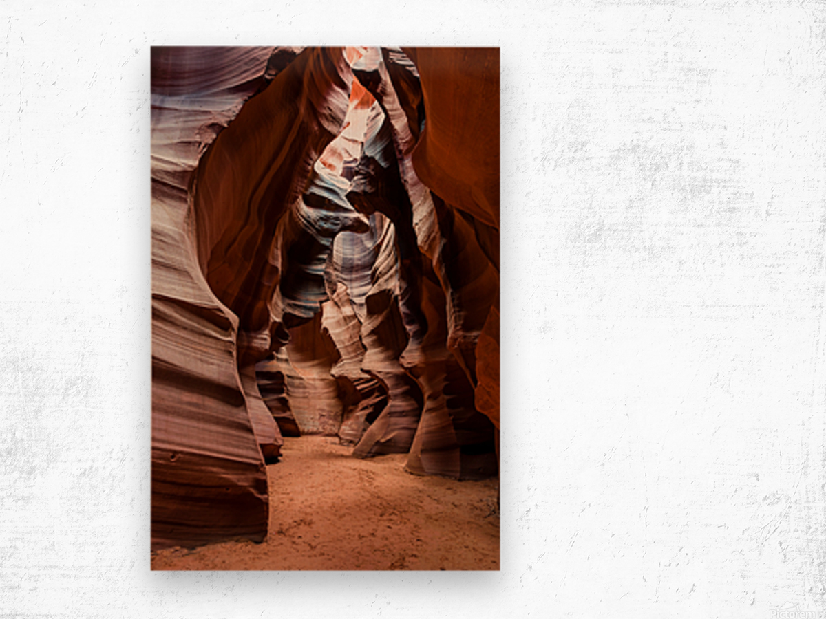 Upper Antelope Canyon 1 Wood print