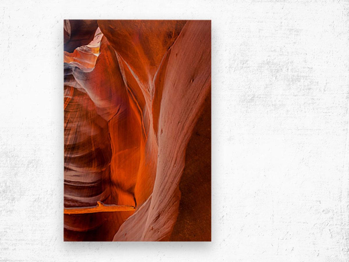 Upper Antelope Canyon 4 Wood print
