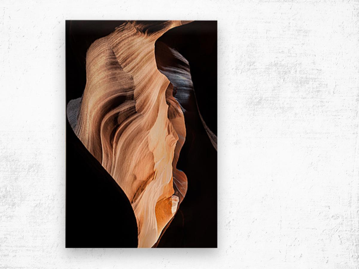 Upper Antelope Canyon 11 Wood print