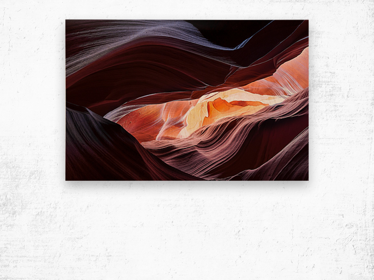 Upper Antelope Canyon 13 Wood print