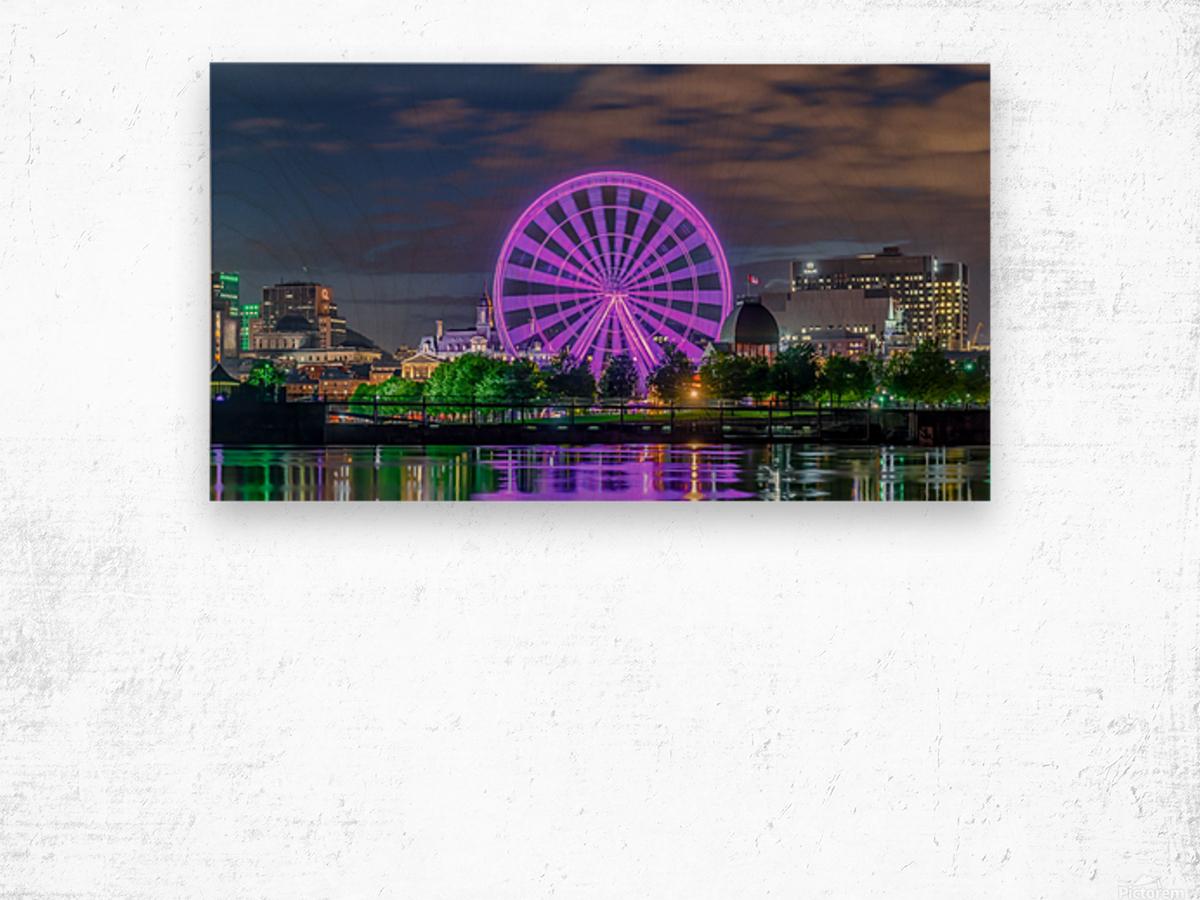 _TEL0646 HDR 1 2 Wood print