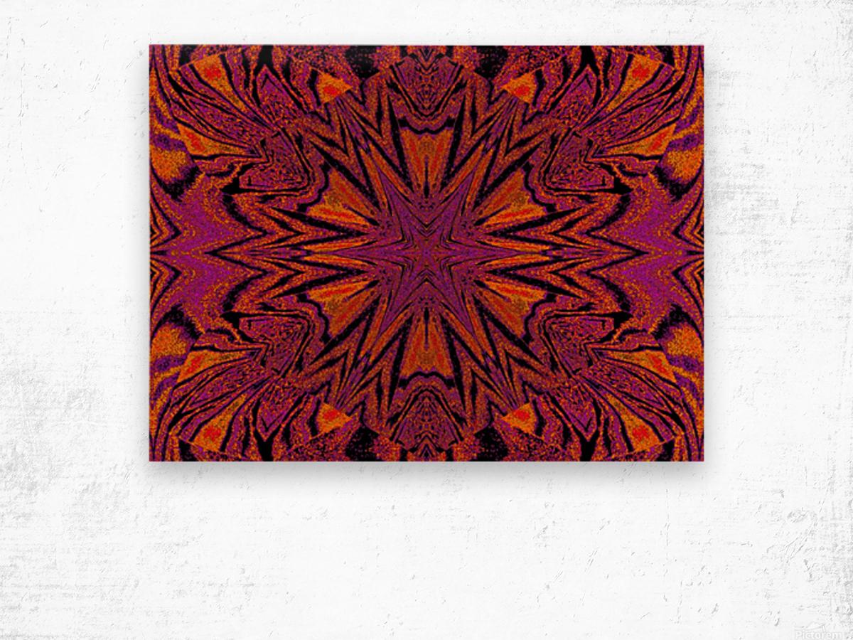 Velvet Spring Flower Wood print