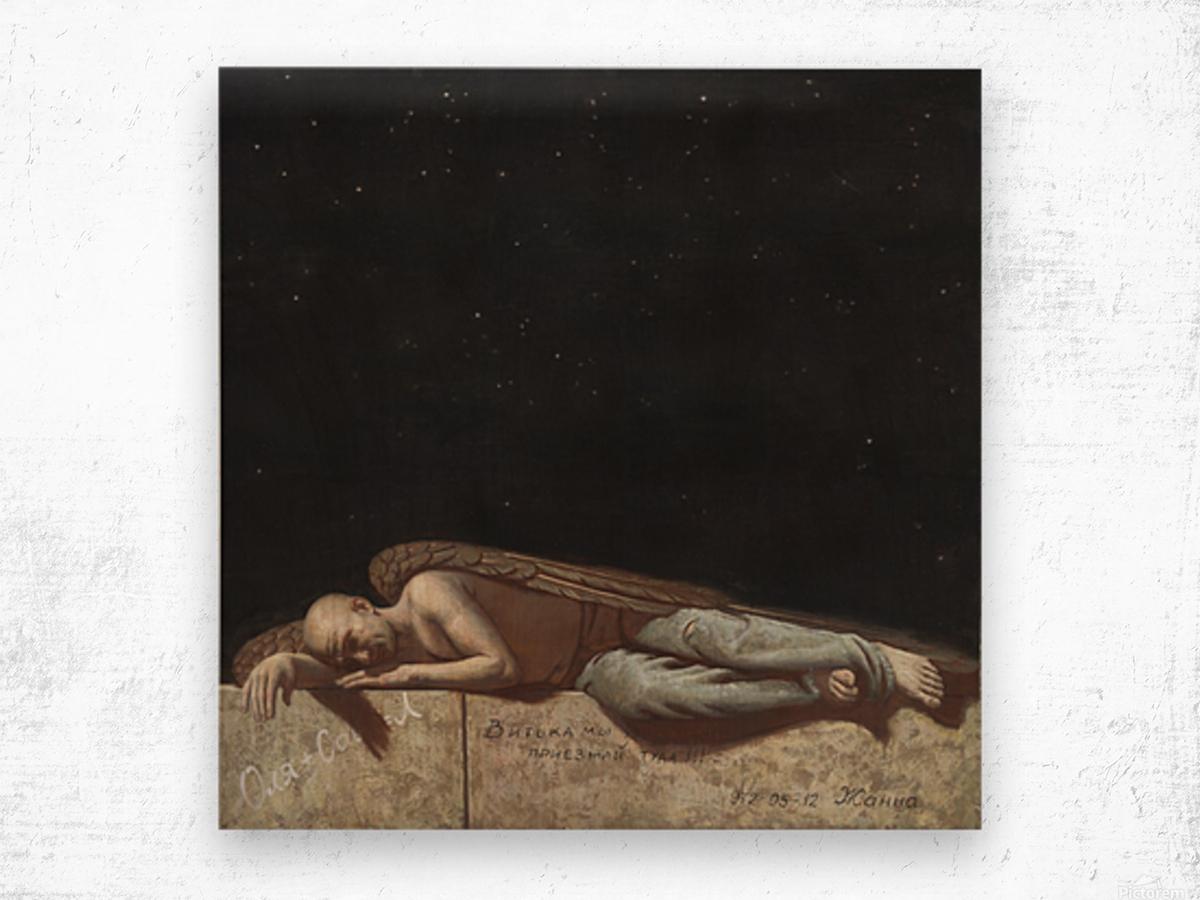 The_Angel Wood print