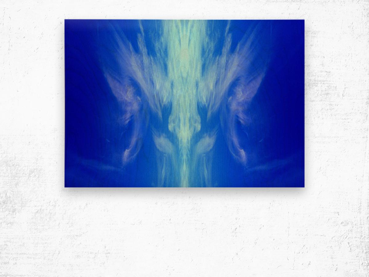 nube 54 Wood print