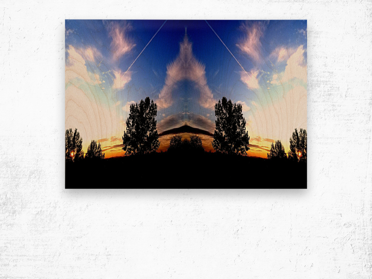 nube 59 Wood print
