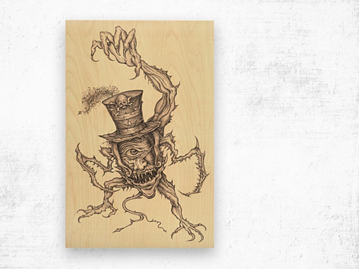 Child_Eater Wood print