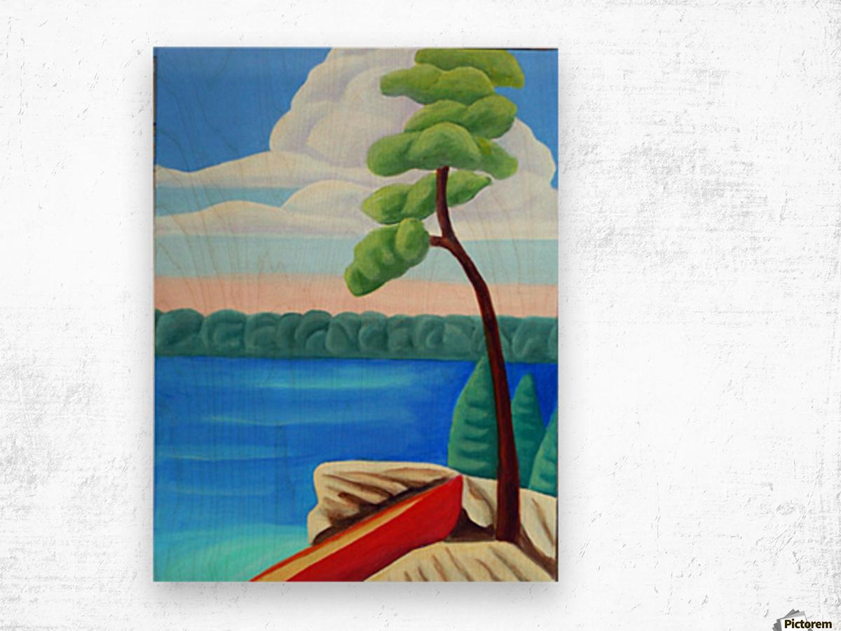 Georgian Bay Shores Wood print