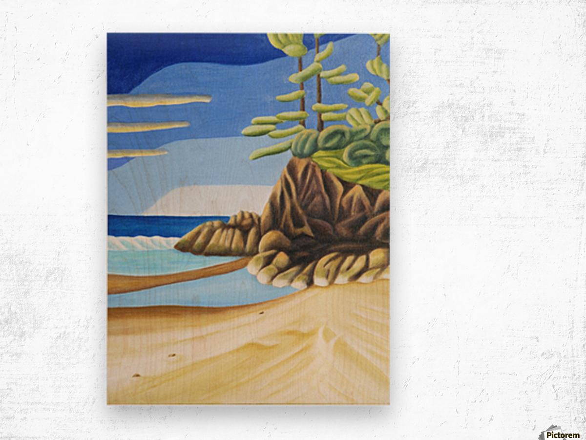 Near Manitoulin Wood print